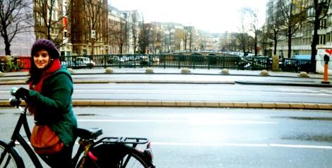 Rolê de Bike em Amsterdam